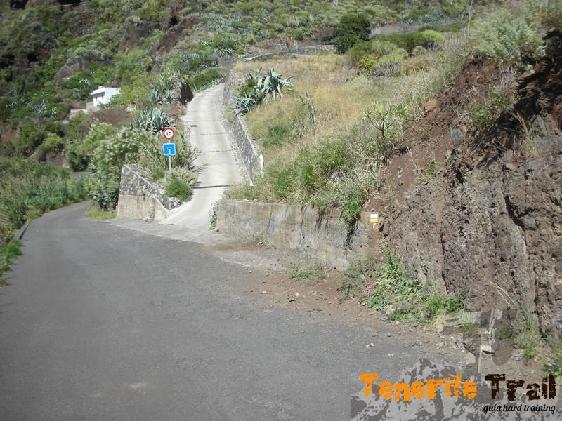 barranco de Igueste inicio sendero