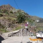 Inicio sendero PR TF 2 Valleseco-Taborno