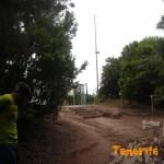 Desviación sendero que te lleva a Jardina desde Cruz del Carmen