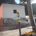 Detalle cartelería en Chamorga