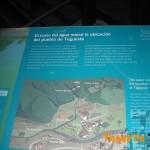 Detalle cartelería sobre el Puente de Palo (Tegueste)