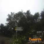 Cartelería al lado de la Casa Forestal en La Cumbre