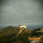 Sendero el PR 4 que te permite bien desde Almáciga ir en dirección a Taganana o subir al Bailadero