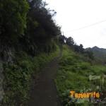 Seguimos en Roque Negro después de esta subida sendero a tu izquierda