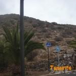 Llegada al El Palmar, calle inicio de sendero de ascenso