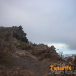 Punto crítico en el Camino Suarez (GR 131 desviación subida circular)