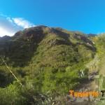 Bajada hacia el Valle de Iguest