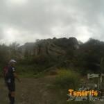 Entrada PR viniendo de Almáciga a Amogoje, abandono de la pista