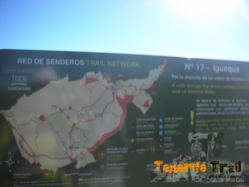 Detalle sendero 17 Igueque