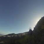 Detalle subida al Pico de La Leña ( a tu izquierda Ifara)