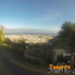 Vista de la ciudad a tus espaldas