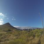 Bajada pico La Leña (referencia construcción)