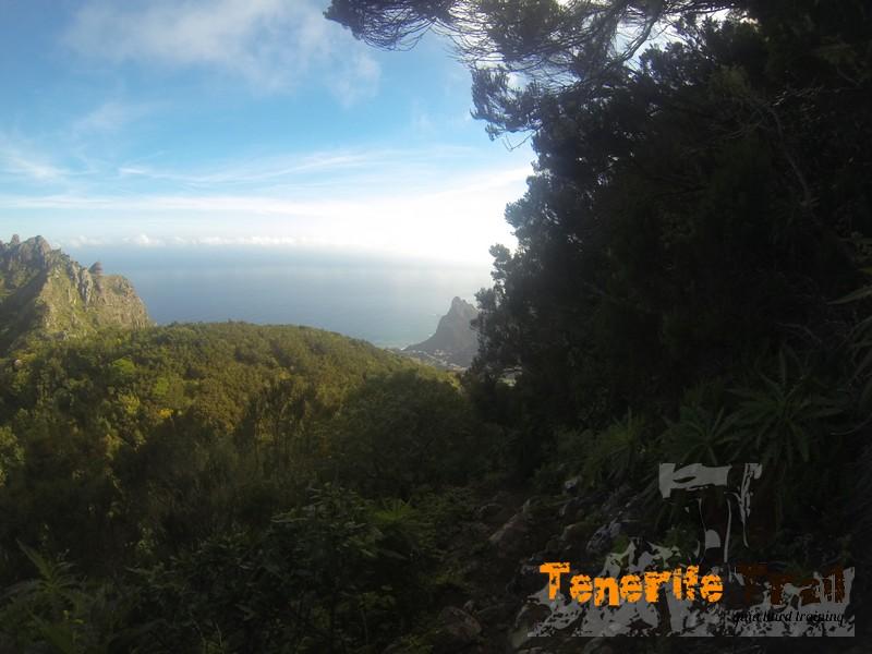 Sendero destino a La Cumbrecilla, vistas