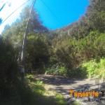 Llegada antigua carretera vieja en Pico del Inglés tiras a tu izquierda desciendes
