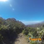 Inicio de bajada Valle Luis