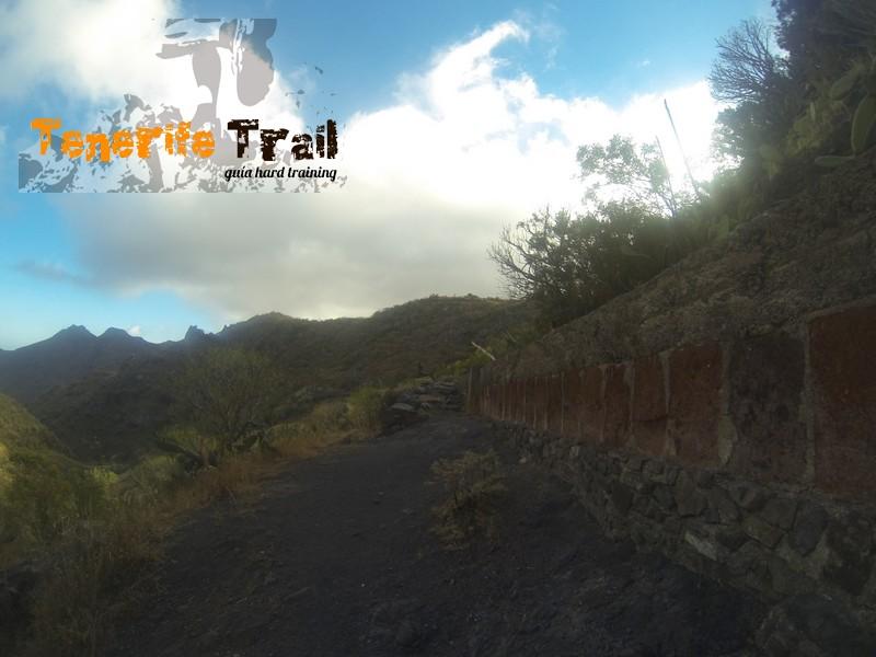 Más detalle del acceso desde Valle Luis a Tahodio