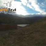 Llegando a la presa Tahodio desde Valle Luis