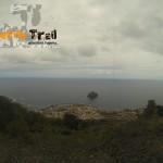 Vista de Garachico ya en el camino de El Lance