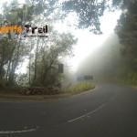 Llegada de nuevo carretera PR 2 cerca de Casa Carlos