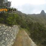 Detalle inicial del sendero de Palos Hincados