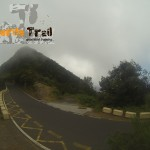 Salida carretera de frente pista y salida Abicore
