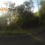 Carretera vieja y salida de sendero hacía Roque Negro