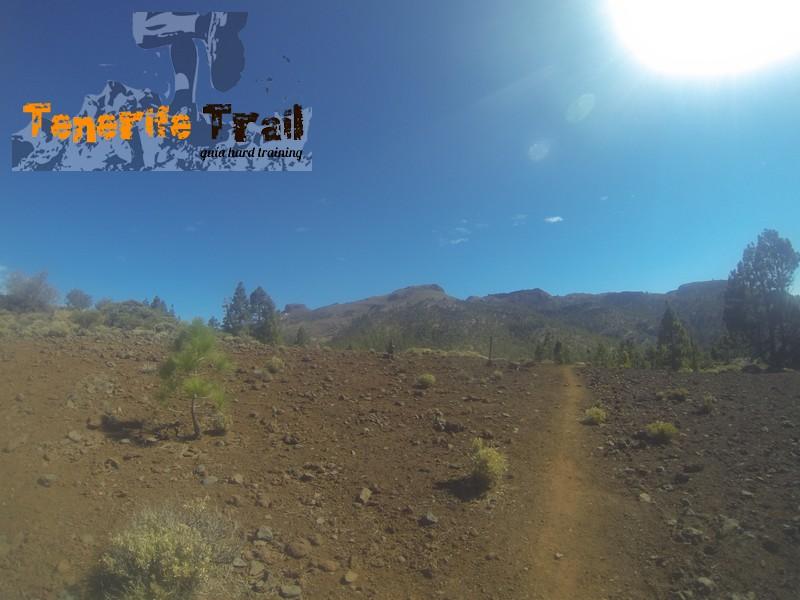 Llegando al área recreativo de Las Lajas