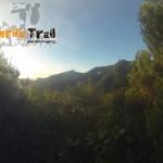 Imagen desde el sendero que nos lleva Roque Negro