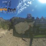 Cartelería del sendero 31 Cumbres de Ucanca