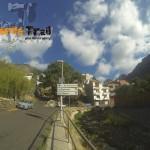 Valleseco (dirección La Quebrada-Las Cuevas) siempre a tu derecha